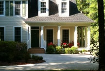 Porches / I love porches - screened-in, open, glass, in any setting.