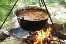 bogrács, grill