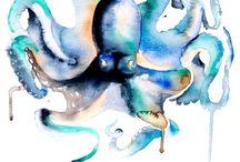 Maľovanie - podmorský svet
