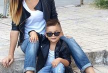 Mother & son style