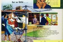 Hills Hoist Vintage Ads