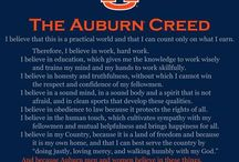 auburn tigers / by kathie Reeves