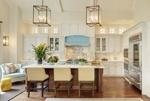 Kitchen & Dining | Decor Inspiration / Kitchen and dining room decorating ideas. Classic, polished and efficient.