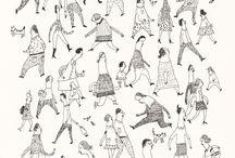 Ilustraciones y dibujos