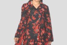 Dress Batik Kerah Blazer Full Furing [BLZ1156]