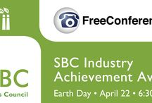 Fourth Annual SBC Industry Achievement Awards! / The awards reception and ceremony salutes and spotlights Southern California companies working daily to create sustainably focused products and services that reduce ecological impact. / by Molly Lavik