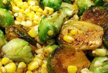 Brussel Sprouts & Carrots