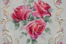 Malování květů
