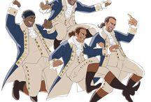 Hamilton / The Hamilton musical
