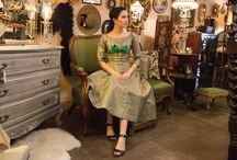 Vintage Look Book / Vintage clothing from Bloomers and Frocks and inspiration on how to wear it.