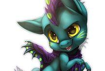 Dragons art