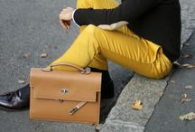 Downtown preppy colorbloker / by Doo Diop