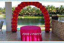 Arch Balloons decoration