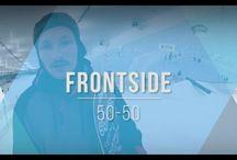 бесплатная онлайн школа сноубординга / В серии видео роликов мы расскажем как кататься на сноуборде, делать трюки - технично и стильно!