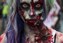 Зомби (Zombie) / costumes, images, makeup, manicure, ideas