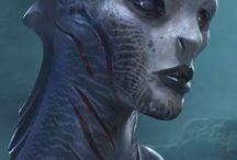Alien Faces