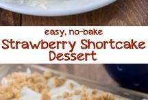 No Bake Dessert Recipes / Wonderful desserts that come together without turning on the oven! / by Lisa (Wine & Glue)