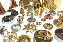 Lighting accessories / Metal finishes available from Rothschild & Bickers