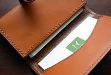 Leather Items : レザー小物達 / ナチュラルズ・クラフツにて販売中です。Available at Naturals Crafts shop.