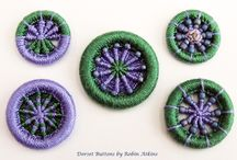 Buttons and brooches