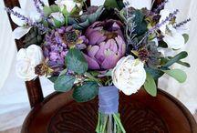 purple mint wedding August