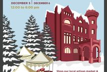 Christkindlmarkt 2015 / Tour the historic home of German-born brewmaster Christian Heurich and shop the local artisans market December 5 & 6 from 12-6 pm. This is Dupont Circle's only holiday market. Shop local with us this holiday season! For additional information, visit heurichhouse.org #CKM2015