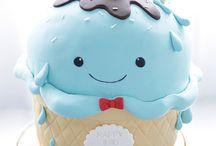 Cake Decoration : ) / Cake