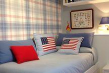 FrescO y JuveniL para DOS / De un dormitorio tradicional se ha pasado a una habitación alegre , practica y mas útil y espaciosa.