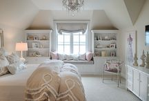 Home Ideas - Bedrooms / Ideas for Bedroom details, decorations, and color combos.