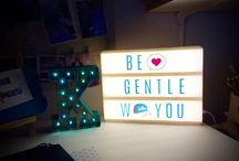 Heidi Swapp Light Box Inspiration / These are all my light box creations