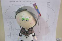 куклы из фома видео