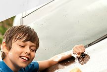 Car wash for different cars / Car wash for different cars