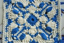 Crochet Squares, triangles and the like / by Vickie's Place