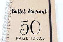 Bullet Journal Stuff