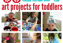 Toddler winter projects