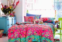 Colourful Bold Interiors & Decor / Bold brave colourful interior design and accessories