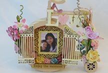 MDF wood layers shadow boxes / Sa Crafters layers shadow box products
