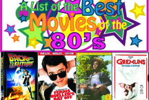 1980's Best Movies - Mommy Bear Media / So, I'll probably date myself here, but I grew up in the 1980′s and love so many of the movies below.  They sure don't make them like they used to.  I used to be able to quote some of these movies.  I thought it would be fun to compile this list of the best 80s movies and share some of my favorites with you!