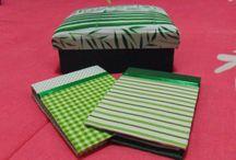 Caixas em mdf e porta blocos de anotações em cartonagem