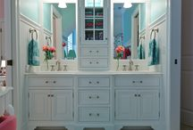 Master bath / by Liz Riotte Stubbs