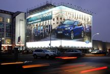 Cars ♥ Giant Posters / Automotive brands using Giant Posters to advertise OOH with blowUP media
