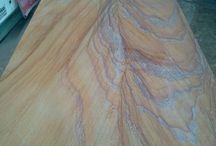 tavoli in pietra / realizzazione tavoli in pietra: arenarie, ardesie, marmi