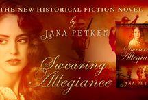 Swearing Allegiance / Historical Fiction. WWI Family Saga.