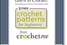 Easy Crochet Patterns & Ideas / These easy crochet patterns are perfect for beginners starting out on their crochet journey! / by Crochet Me