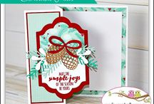Z folding cards / Z folding cards created mostly with Stampin Up Products