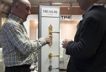 Showroom Treasure by Mestre - Valencia, Spain / Showroom New Collection Treasure by Mestre. Luxury door hardware, luxury handles