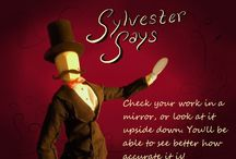 Sylvester Says / Art tips from your most esteemed Artist Manikin.