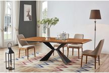 Modern Wood  Walnut Dining Collection in Florida