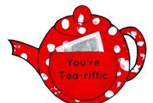 Tea pot craft.