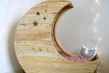 Girl's room ideas / by April Bauman